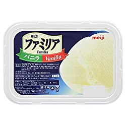 [冷凍] 明治 ファミリア バニラ 2000ml