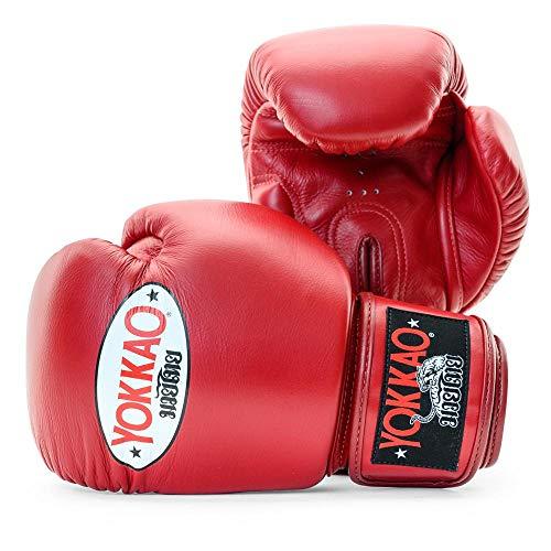 Yokkao Matrix - Guanti da boxe traspiranti Muay Thai, colore: nero, rosso, blu, bianco, giallo, verde, grigio, petrolio, 226,8 g, 340 g, 396,9 g, 453,6 g