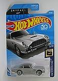 Hot Wheels 2018 50th Anniversary HW Screen Time James Bond 007 Skyfall Aston Martin 1963 DBS 78/365, Silver