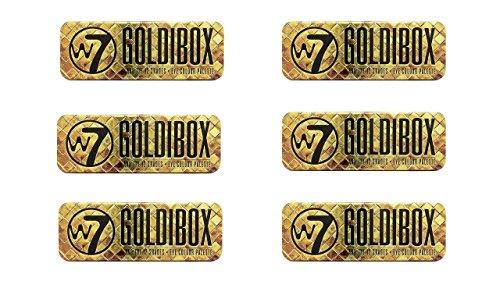 W7 Goldibox Palette ombretti 12 colori – Confezione da 6