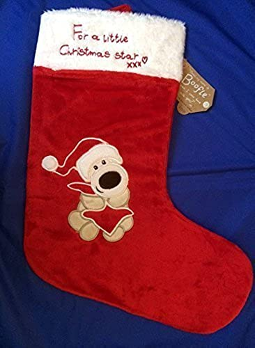 Boofle - For A Little Christmas Star - Christmas Stocking by Boofle