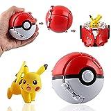 Pokéball Pokemon,Pokebola Pikachu Bola De Pokemon Pikachu,Poké Ball Poké Ball Pokemon Pokebola Pokebola Con Pokemon Pokemon Bola Regalos Para Niños 8cmx7cmx6cm
