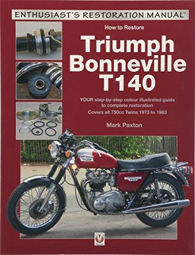 How to Restore Triumph Bonneville T140 (Enthusiast's Restoration Manual)