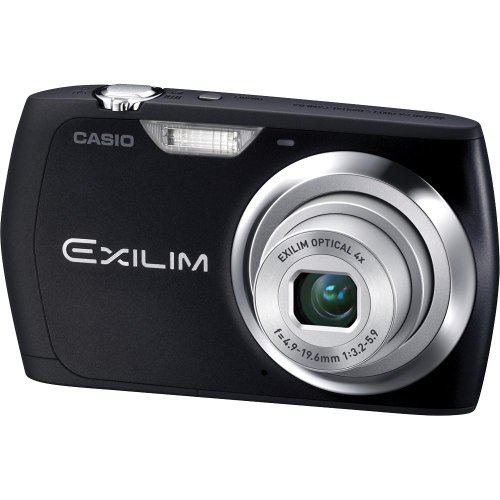 Casio Exilim EX-S8 12 MP Digital Camera with 4x Optical Zoom and 2.7-Inch LCD (Black)