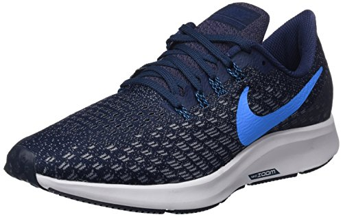 Nike Air Zoom Pegasus 35, Zapatillas de Running Unisex Adulto, Multicolor (Obsidian/Blue Hero/Gunsmoke/Vast Grey 401), 38.5 EU