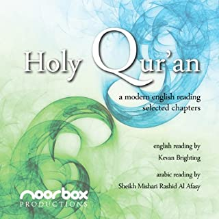 The Holy Qur'an - A Modern English Reading - Selected Chapters audiobook cover art