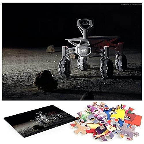 Future Lunar Rover Interstellar inloggning vuxenpussel, 1 000 pussel för vuxna och barn, roliga familjespel, heminredning