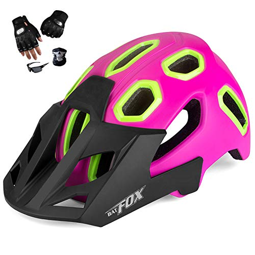 YYYY Sports Helmet, Anti-Theft Holes, Comfortable and Breathable, Easy to Clean, Light, Adjustable, Unisex Roller Skating Mountain Bike Bicycle Skating (54-62 cm) 3-M