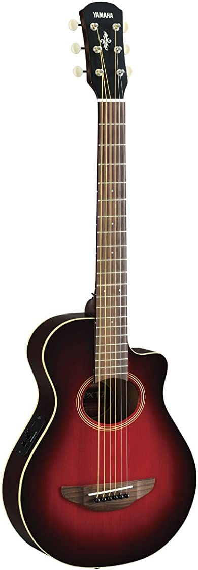 Chitarra elettrica-acustica, 3/4, rosso scuro yamaha apxt2 drb