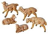 Fontanini by Roman Sheep Nativity Figurine, 5-Piece, 5-Inch Each