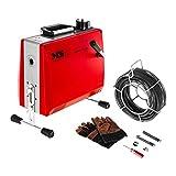 MSW- DRAIN CLEAN 2.3E - Máquina desatascadora de tuberías 390 W 400 rpm para Ø 30-100 mm
