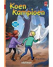 Koen Kampioen omkeerboek-op kamp-in de krant