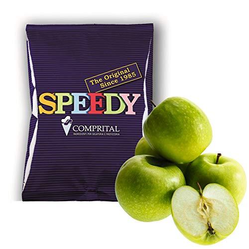 1,250 g helado o sorbete al sabor manzana verde para heladería, producto completo artesanal