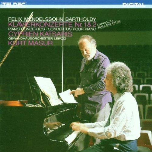 Klavierkonzert 1 und 2 / Capr.Brill.Op. 22