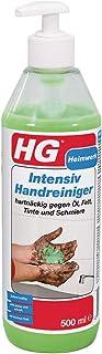 HG Intensieve handreiniger 500 ml – een handreiniger die de handen van hardnekkig vuil bevrijdt, zonder de huid te beschad...
