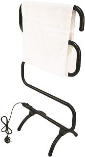 LIABC Toalla Eléctrica Calentador De Calentador De Riel Baño De Pie Estante Eléctrico Estante De Ropa Calentada Estante Calentador Independiente Radiador De Montaje En Pared