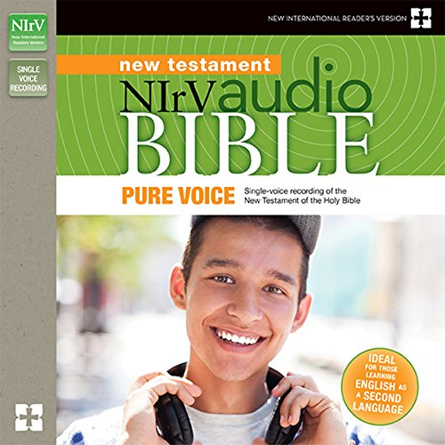 NIrV Audio Bible New Testament, Pure Voice audiobook cover art