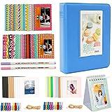 Alohallo Lot d'accessoires pour album photo Fujifilm Instax Mini 7s 8 8+ 9 25 50s 70 90, Polaroid Snap PIC-300, HP Sprocket, Kodak Mini 3 pouces
