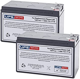 RB1280X2B - Brand New Compatible Replacement Battery Set by UPS Battery Center