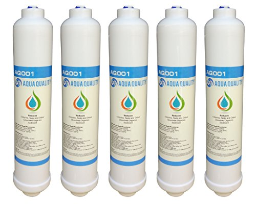 Wasserfilter von Aqua Quality für Samsung, GE Daewoo, LG, Beko, Bosch, Hotpoint, hohe Wasser-Qualität, 5 Stück