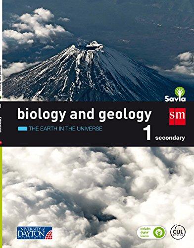 Biology and geology. 1 Secondary. Savia: Valencia, Cantabria, Castilla La Mancha, Cataluña, Baleares - Pack de 3 libros - 9788416346769