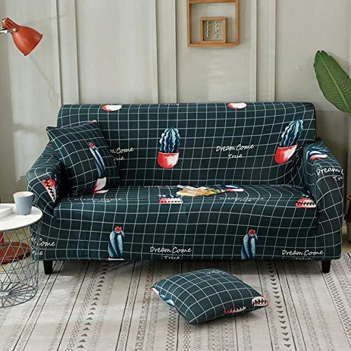 Allenger Funda de sofá de Alta Elasticidad,Funda de sofá elástica, Toalla de sofá de Cobertura Completa, Funda de cojín para Sala de Estar, Funda de protección para Muebles-Color 34_190-230cm