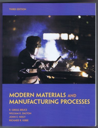 Price comparison product image MODERN MATERIALS and MANUFACTURING PROCESSES Third Edition