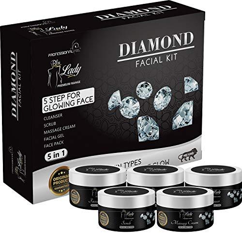Blue Lady Professional Diamond Facial Kit-250 Gm