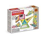 Magformers XL Neon 62 Pieces Set, Rainbow Neon Colors, Educational Magnetic Geometric Shapes Tiles Building STEM Toy Set Ages 3+