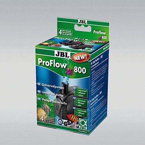 JBL ProFlow u800 60583 Universalpumpe mit 900 l/h zur Umwälzung von Wasser in Aquarien und Terrarien