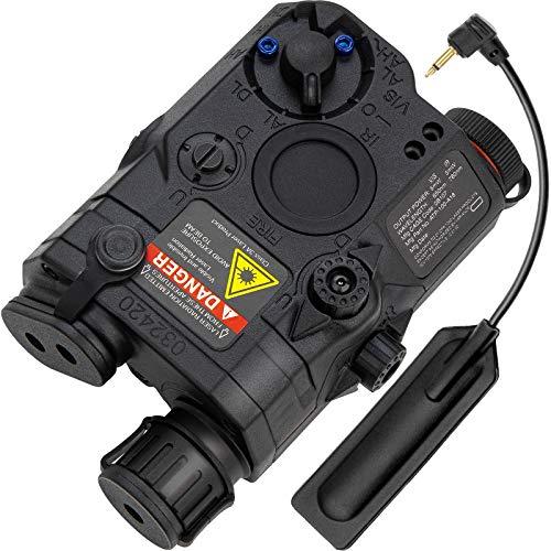 Action Union Airsoft PEQ 15 PEQ Box Upgraded IR Laser + Red Laser Sight + White LED Flashlight for AEG GBB CQB