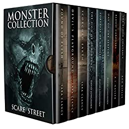 Monster Collection: Scary Supernatural Horror Anthology with Monsters by [Ron Ripley, Sara Clancy, David Longhorn, A.I. Nasser, Scare Street, Emma Salam]