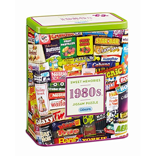 Gibsons 1980s Sweet Memories Jigsaw Puzzle in scatola regalo (500 pezzi), Colore 2, GIBG3833