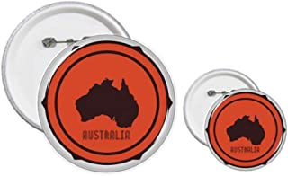Kit de création de boutons et de badges d'Australie