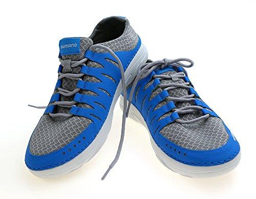 SHIMANO EVAIR Boat Shoes SZ. 7 Blue
