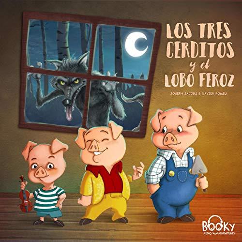 Diseño de la portada del título Los Tres Cerditos y el Lobo Feroz