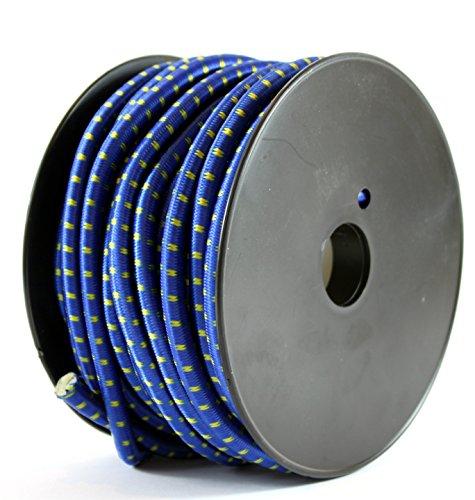 K&B 245 Tendeur en caoutchouc Bleu Ø 8 mm 20 m