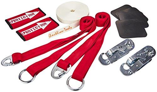 Slackline Tools 15m Clip 'n Slack Set Bandbreite 30 mm