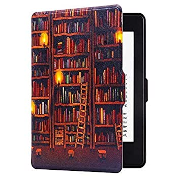 Huasiru Painting Case for Kindle Paperwhite Library - fits All Paperwhite Gens Prior to 2018  Will not fit All-New Paperwhite 10th Gen
