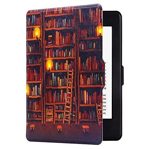 Huasiru Pintura Caso Funda para Kindle Paperwhite (versiones