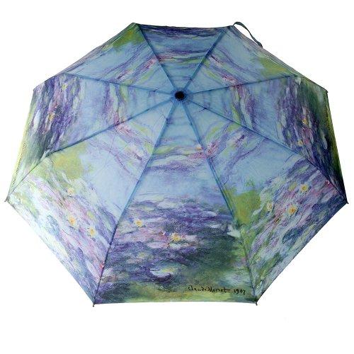 Taschenschirm Automatik Regenschirm Seerosen Claude Monet Rosemarie SCHULZ Regenschirme & Geschenke
