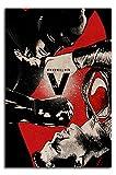 Batman V Superman Dawn of Justice Toile murale 50,8 x 76,2 cm Motif super-héros Décoration murale pour chambre de garçon et fille Sans cadre