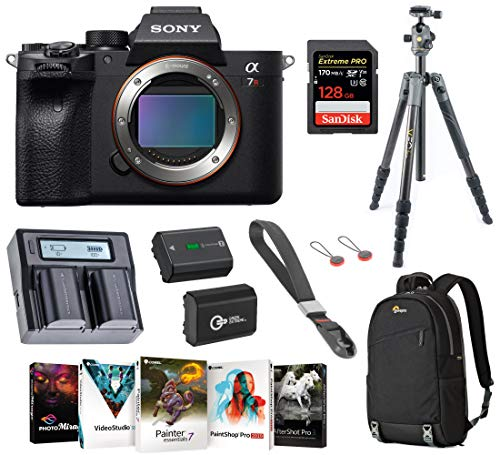 Purchase Sony Alpha a7R IV Full-Frame Mirrorless Digital Camera (Body Only), Tripod Bundle with Vang...