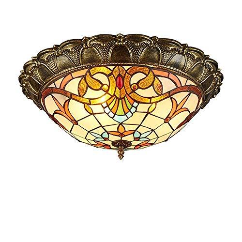 Deckenleuchte Kreative Kreisförmige Schlafzimmer-Wohnzimmer-Decke Mit Beleuchtung - Art Retro Hausgarten Beleuchtet Garderoben-Lichter