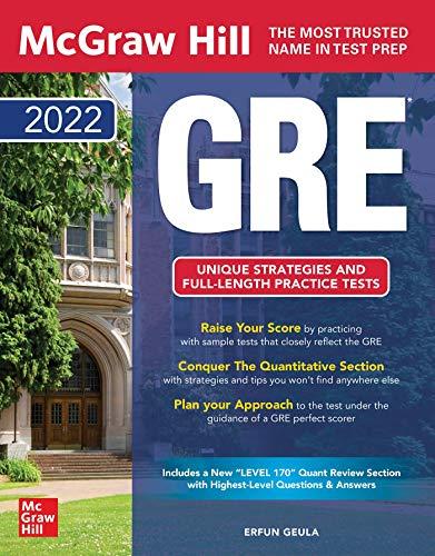 McGraw Hill's GRE 2022 (McGraw-Hill Education GRE)