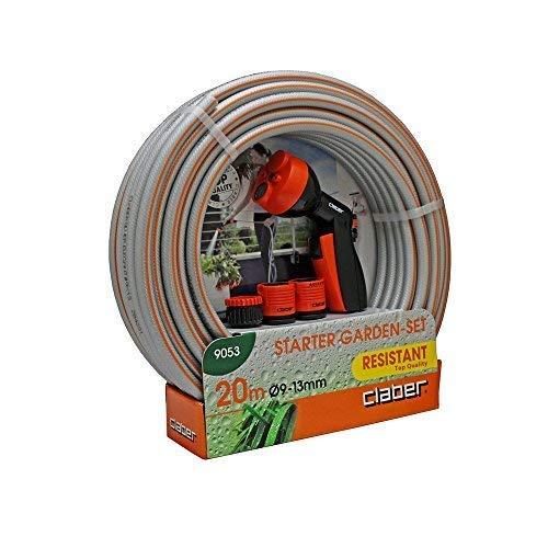 Claber D90530000 - Set starter garden 20m manguera 9-13mm+accesorio