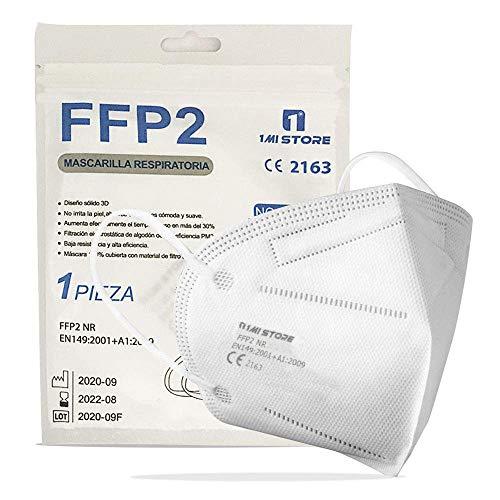 Eurekaled 20 Stück Atemschutzmaske Kn95 / FFP2 Atemschutzmaske Staubschutz 4-lagig