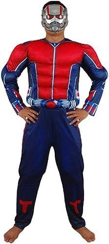 YUNMO équipeHommest Fun Réunion annuelle Perforhommece Marvel Avengers Cosplay Robe Up Costume Fourmi Adulte Male Muscle Fourmi
