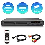 Mediasonic DVD Player – All Region DVD Players for Home with HDMI /