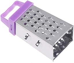 Zonster 1PC Useful Mini 4 Sides Multifunction Handheld Grater Slicer Fruit Vegetable Peeler Kitchen Tools,Purple